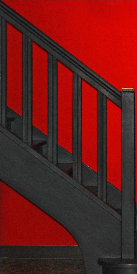 Janine M_ l'escalier