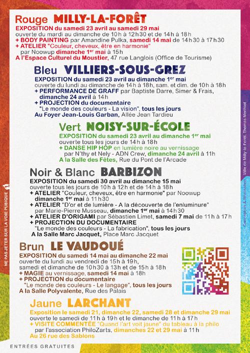 Programme festival couleurs